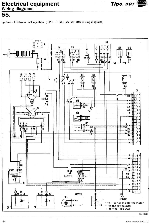 Fiat tipo схема